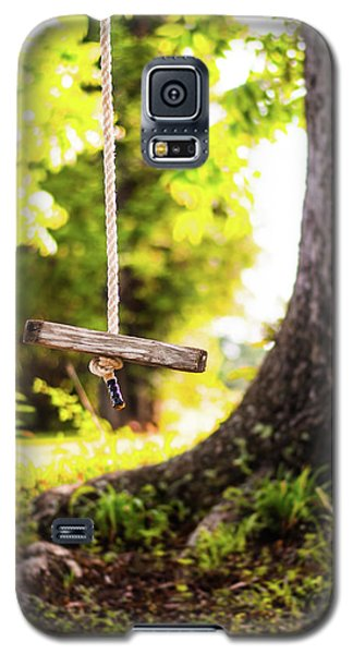 Galaxy S5 Case featuring the photograph Summer Memories On The Farm by Shelby Young