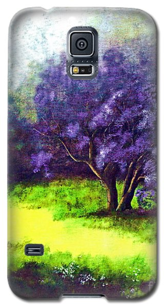 Galaxy S5 Case featuring the painting Summer Mist by Patricia Griffin Brett