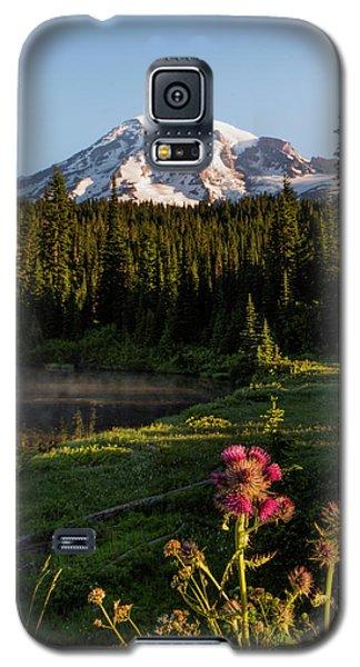 Summer Morning At Mt Rainier Galaxy S5 Case