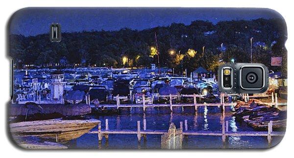 Summer Night - Lake Geneva Wisconsin Galaxy S5 Case