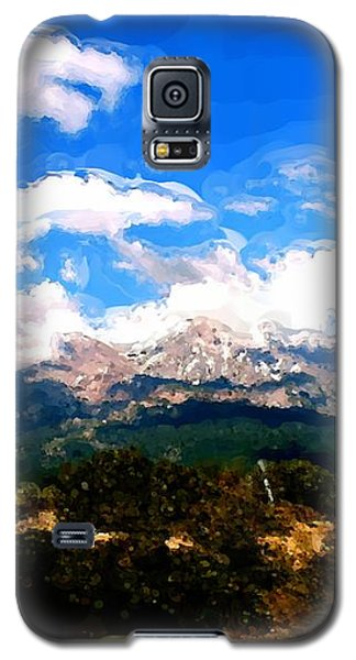 Summer On Mt. Shasta Galaxy S5 Case by Methune Hively