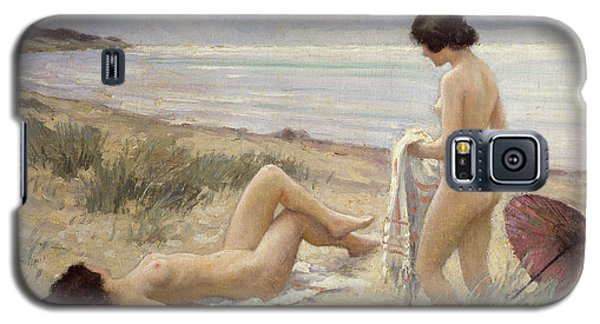 Nudes Galaxy S5 Case - Summer On The Beach by Paul Fischer