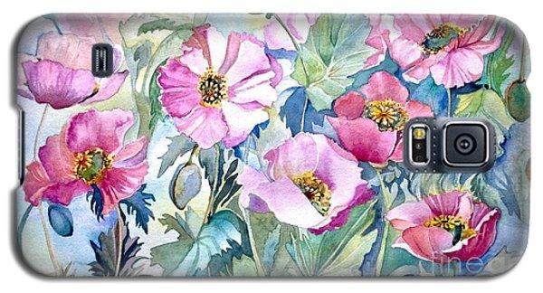 Summer Poppies Galaxy S5 Case