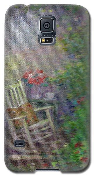 Summer Porch And Rocker Galaxy S5 Case