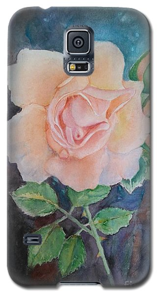 Summer Rose - Painting Galaxy S5 Case by Veronica Rickard