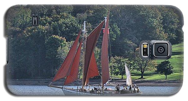 Summer Sailing In Lunenburg Galaxy S5 Case