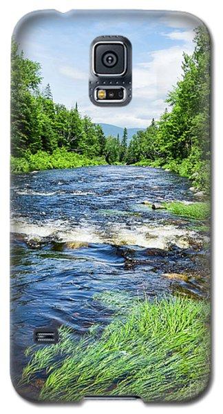 Summer Scene Rangeley Maine  -70742 Galaxy S5 Case