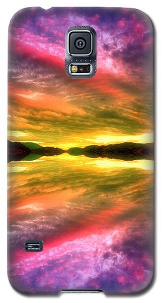 Summer Skies At Skaha Galaxy S5 Case