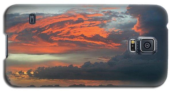 Summer Sky On Fire  Galaxy S5 Case