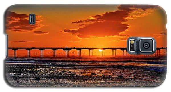 Summer Solstice Sunset Galaxy S5 Case