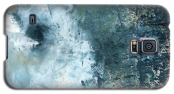 Rolling Stone Magazine Galaxy S5 Case - Summer Storm- Abstract Art By Linda Woods by Linda Woods