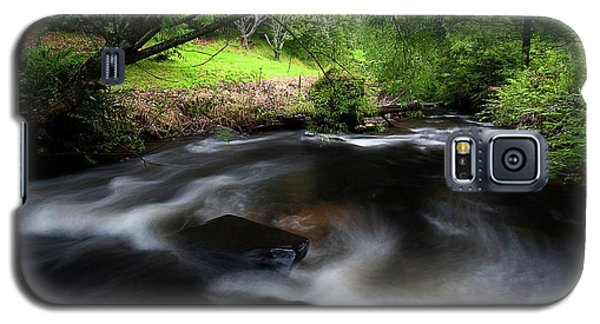 Galaxy S5 Case featuring the photograph Summer Stream by Tim Nichols