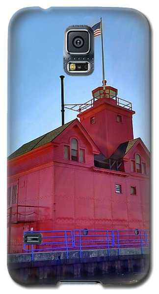 Galaxy S5 Case featuring the photograph Summer Sun And Big Red by Michelle Calkins
