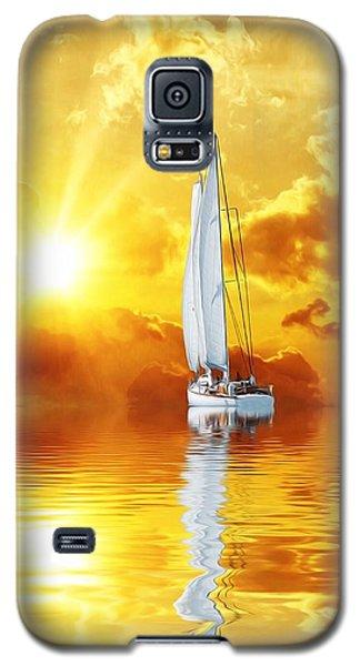 Summer Sun And Fun Galaxy S5 Case