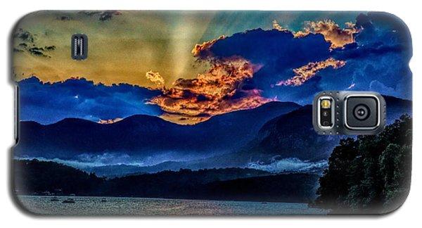 Summer Sundown Galaxy S5 Case