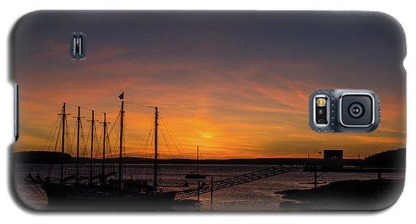 Summer Sunrise In Bar Harbor Galaxy S5 Case