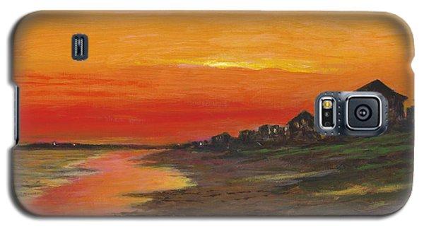 Summer Sunset At  Crystal Beach Galaxy S5 Case
