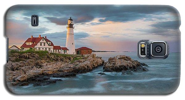 Summer Sunset At Portland Head Light Galaxy S5 Case
