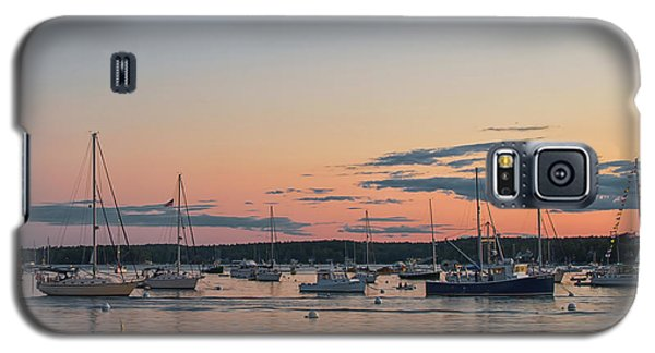 Summer Sunset In Boothbay Harbor Galaxy S5 Case