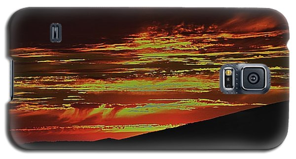 Summer Sunset Rain Galaxy S5 Case
