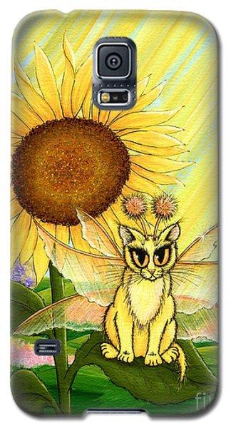 Summer Sunshine Fairy Cat Galaxy S5 Case