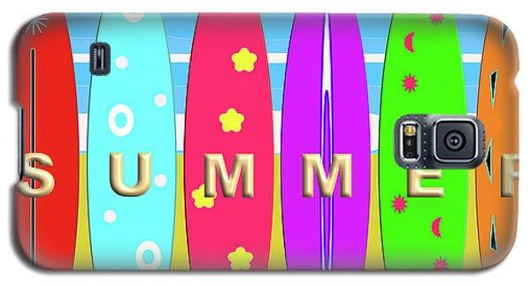 Summer Surf Galaxy S5 Case