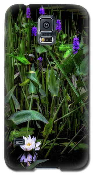 Galaxy S5 Case featuring the photograph Summer Swamp 2017 by Bill Wakeley