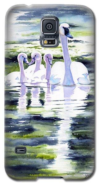 Summer Swans Galaxy S5 Case