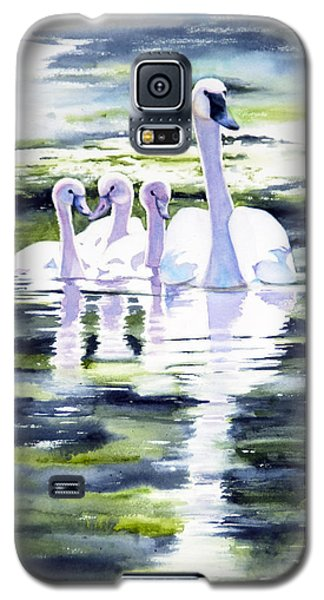 Summer Swans Galaxy S5 Case