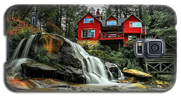 Summer Time At Living Waters Ministry And Shoals Creek Falls Galaxy S5 Case
