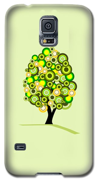 Garden Galaxy S5 Case - Summer Tree by Anastasiya Malakhova