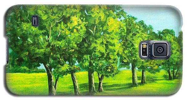 Summer Trees Galaxy S5 Case by Bozena Zajaczkowska