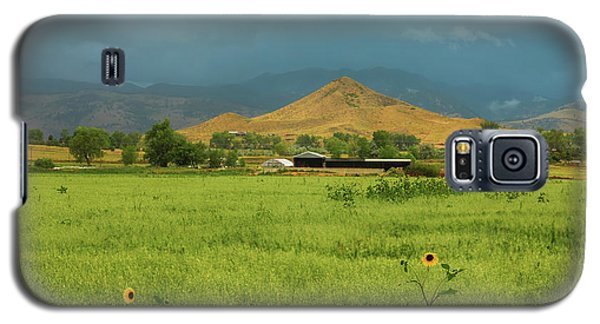 Galaxy S5 Case featuring the photograph Summer View Of  Hay Stack Mountain by James BO Insogna