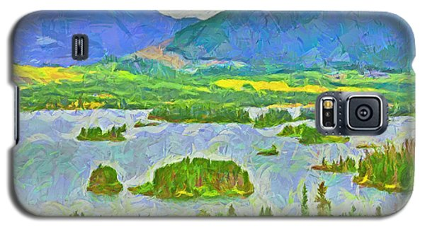 Summer View Of Lake Dillon In The Colorado Rocky Mountains Galaxy S5 Case