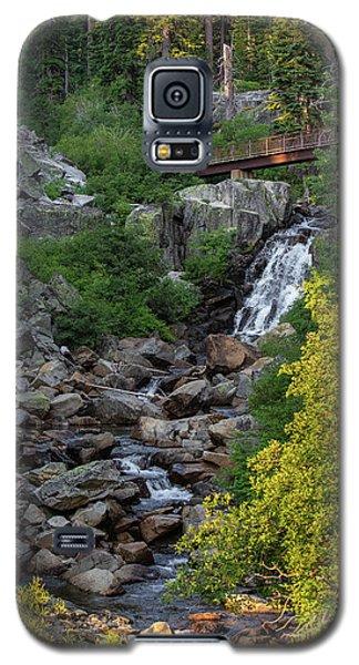 Summer Waterfall Galaxy S5 Case