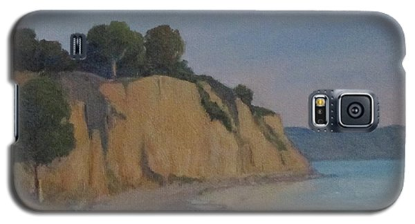 Galaxy S5 Case featuring the painting Summerland Beach Study by Jennifer Boswell