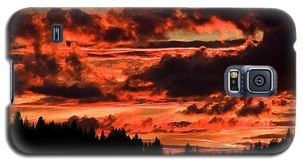 Summer's Crimson Fire Galaxy S5 Case