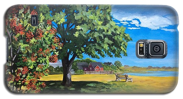 Summer's End In Biddeford At Biddeford  Pool Galaxy S5 Case