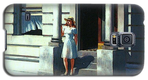 Summertime  Galaxy S5 Case by Edward Hopper
