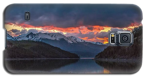 Summit Cove June Sunset Galaxy S5 Case by Stephen Johnson