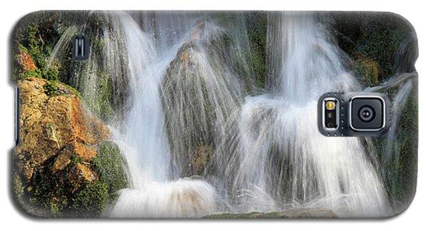 Summit Creek Waterfalls Galaxy S5 Case