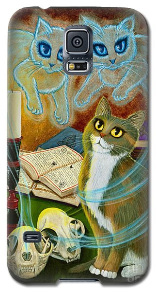 Summoning Old Friends - Ghost Cats Magic Galaxy S5 Case