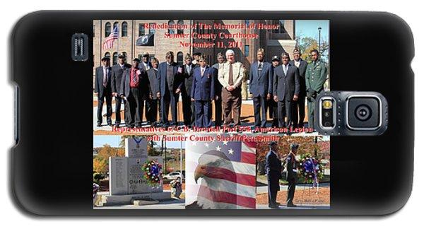 Sumter County Memorial Of Honor Galaxy S5 Case