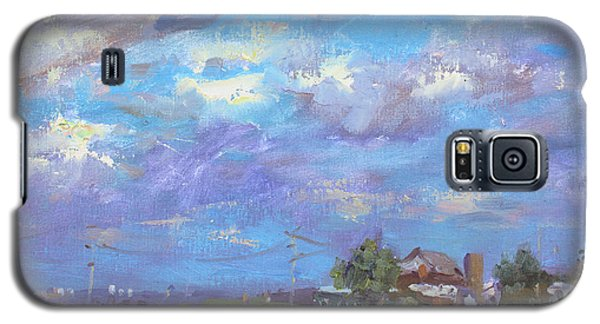 Georgetown Galaxy S5 Case - Sun And Clouds Georgetown  by Ylli Haruni