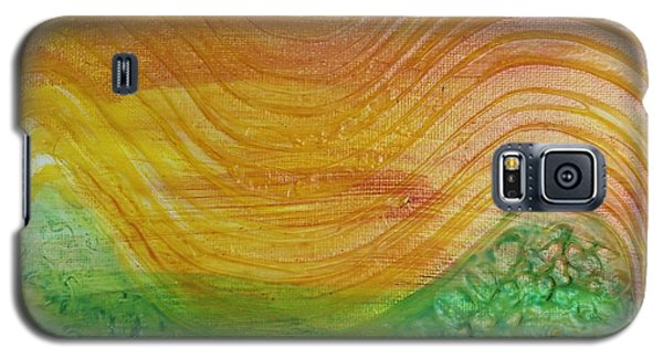 Sun And Grass In Harmony Galaxy S5 Case