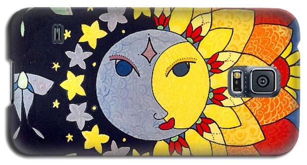 Sun And Moon Galaxy S5 Case