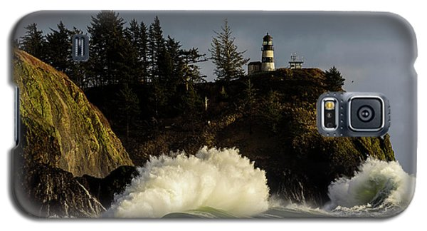 Sun And Surf With Lighthouse Galaxy S5 Case