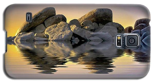 Sun Bathed Rocks Galaxy S5 Case