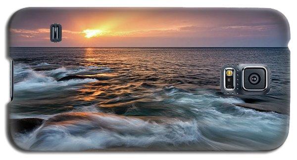 Sun Beams Halibut Pt. Rockport Ma. Galaxy S5 Case