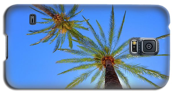 Sun Bed View Galaxy S5 Case